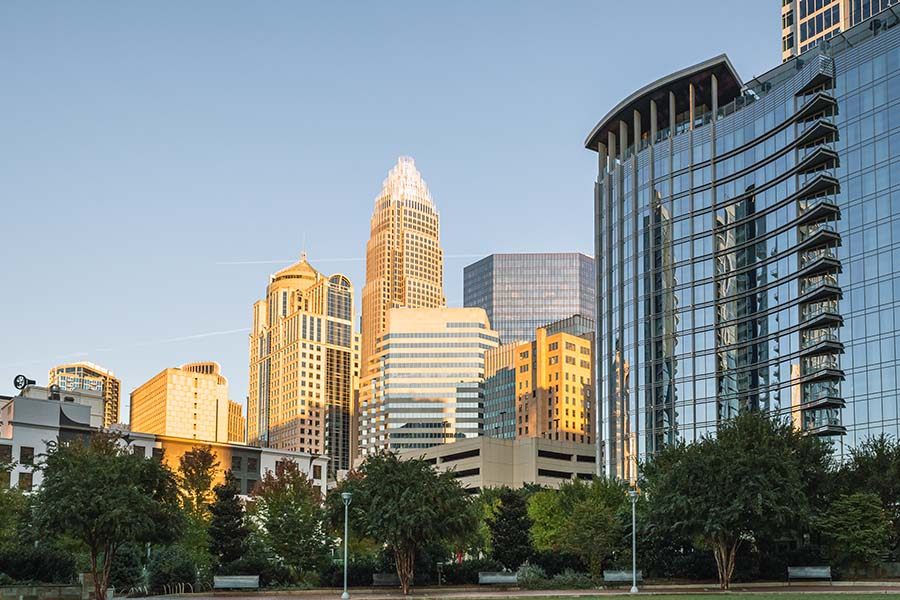 North Carolina - Commercial Buildings and Skyscrapers in Charlotte North Carolina